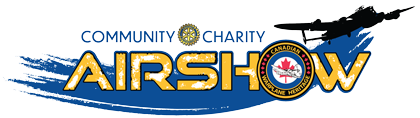 The Community Charity Airshow logo