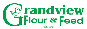 Grandview Flour and Feed logo