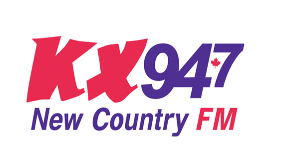 KX94-7 New Country FM logo