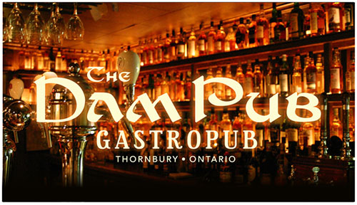 The Dam Pub logo