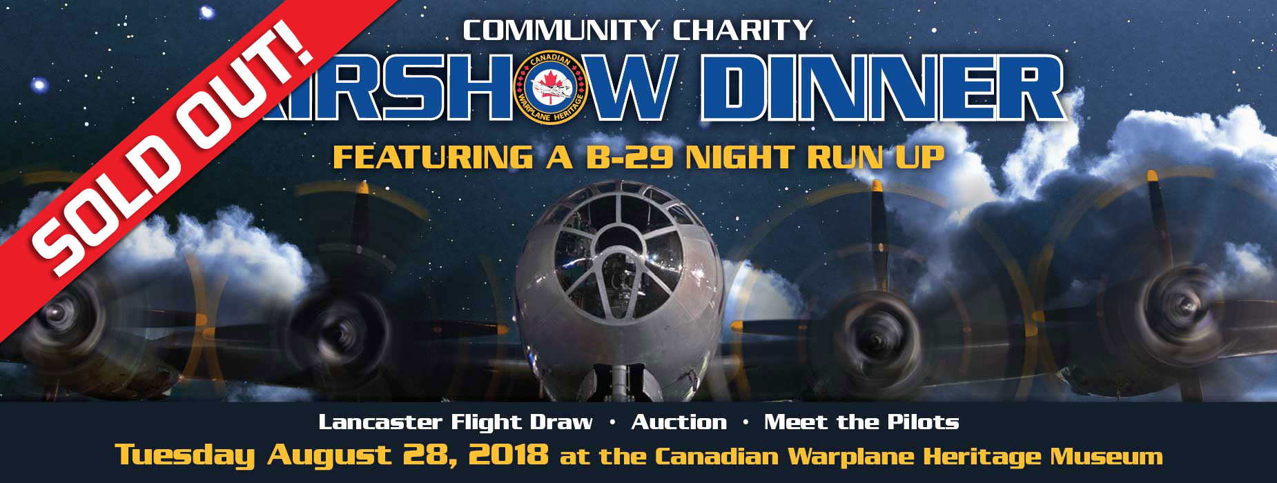 Poster for Airshow Dinner