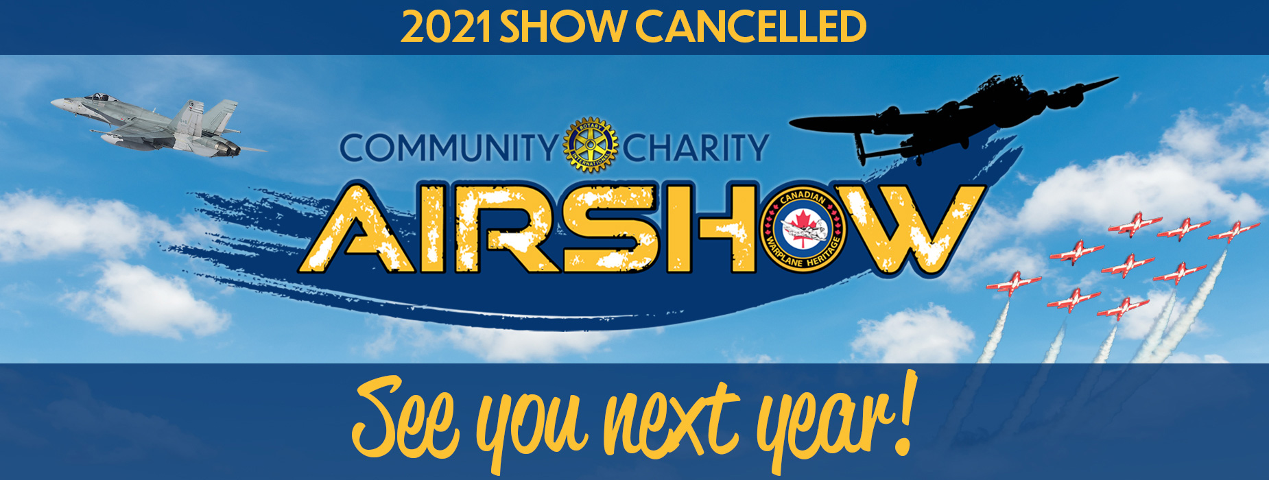 Poster for Community Charity Airshow